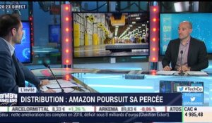 Distribution: Amazon poursuit sa percée - 15/03