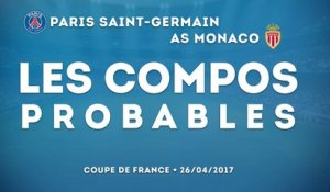 PSG-Monaco : les compositions probables