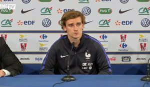 Equipe de France - Griezmann : ''On peut progresser défensivement et offensivement''