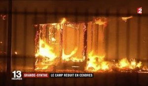 Grande-Synthe : le camp de migrants détruit par un incendie