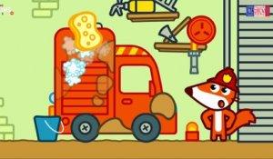 Pompier Dessin Anime Francais Camion De Pompier Pompier D