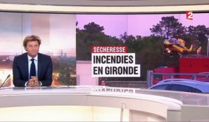 Sécheresse : de violents incendies en Gironde