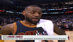 Nightly Notable - Split - PAL  (LeBron James, Cleveland Cavaliers)