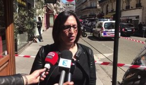 Braquage d'une bijouterie rue Marbeuf à Paris - Noura B. -Syndicat Alliance Police Nationale