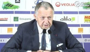 OL : Aulas évalue la situation de Genesio