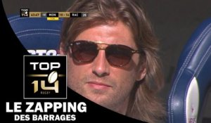 TOP 14 – Le Zapping des barrages – Saison 2016-2017