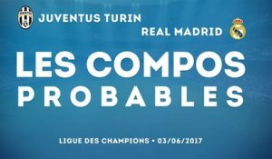 Juventus - Real Madrid : les compositions probables !