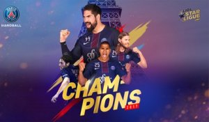 Paris Saint-Germain Handball : La remise du trophée