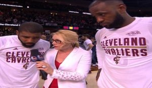 Kyrie Irving and LeBron James Post Game Interview - PAL