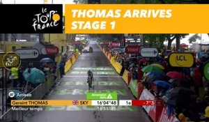 Geraint Thomas - Étape 1 / Stage 1 - Tour de France 2017