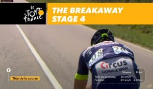 L'échappée / The breakaway  - Étape 4 / Stage 4 - Tour de France 2017