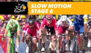 L'arrivée au ralenti / Finish in slow motion - Étape 6 / Stage 6 - Tour de France 2017