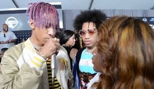 HHV Exclusive: Ayo & Teo talk breakout success on the BET Awards red carpet