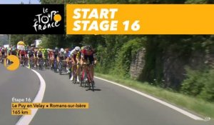 Départ / Start - Étape 16 / Stage 16 - Tour de France 2017