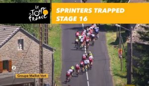Les sprinteurs piégés par la formation Sunweb / Sunweb tries to keep the sprinters away - Étape 16 / Stage 16 - Tour de France 2017