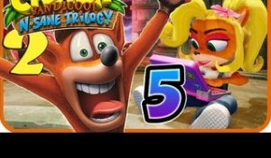 Crash Bandicoot N. Sane Trilogy Walkthrough Part 5 (PS4) Crash 2 - World 5