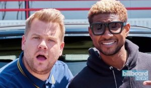 Usher and James Corden Dance, Clean, Sing Hits on 'Carpool Karaoke' | Billboard News