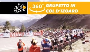 The Grupetto climbs the Col d'Izoard - 360° - Tour de France 2017