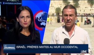 Israël: prières mixtes au mur Occidental