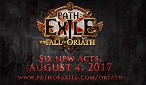Path of Exile The Fall of Oriath Release Date Trailer