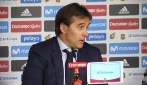 Qualif. CdM 2018 - Lopetegui : ''La perfection n'existe pas''