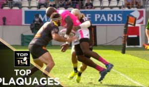 TOP Plaquages de la J2 – TOP 14 – Saison 2017-2018
