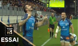 TOP 14 - Essai Julien DUMORA (CO) - Castres - Montpellier - J3 - Saison 2017/2018