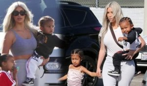 "Kim Kardashian Says Her Kids are Her ""World"""