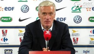 La réaction de Didier Deschamps