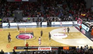 Basket - Euroligue (H) : Bamberg domine Vitoria