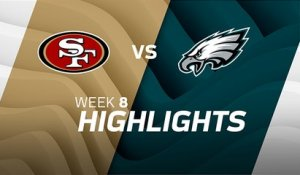 49ers vs. Eagles highlights | Week 8