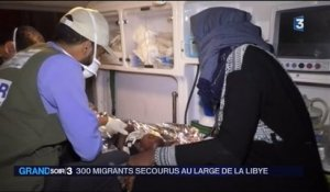 Libye : 300 migrants secourus au large