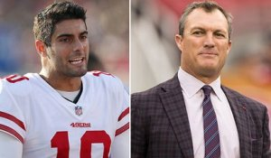 Lynch on Garoppolo: 'All the moms ... want to know about Jimmy'
