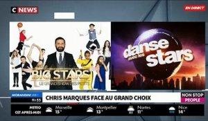 "Chris Marques face au ""Grand Choix"" dans ""Morandini Live"": Vincent Cerutti ou Laurent Ournac - VIDEO"
