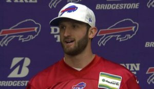 Nathan Peterman: Being named starter is 'emotional...dream come true'