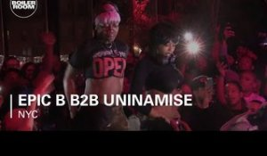 Epic B b2b Uninamise Boiler Room New York DJ Set