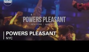 Powers Pleasant Boiler Room New York DJ Set