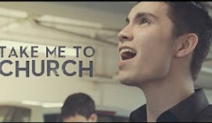 Take Me To Church (Hozier) -  Sam Tsui & Kurt Schneider Cover