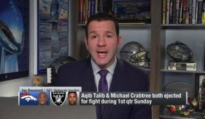 Rapoport: Don't expect suspensions for Aqib Talib, Michael Crabtree