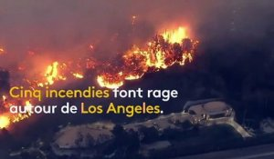 Etats-Unis : Los Angeles cernée par les incendies