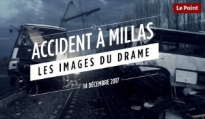 Accident à Millas : les images du drame