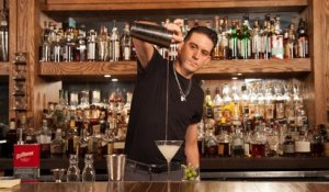 G Eazy Shakes Up The Perfect Dirty Martini | Behind The Bar