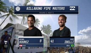 Adrénaline - Surf : 2017 Billabong Pipe Masters- Round Three, Heat 5