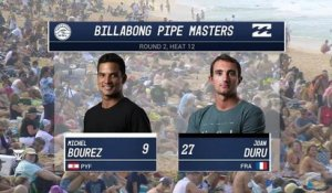 Adrénaline - Surf : 2017 Billabong Pipe Masters- Round Two, Heat 12