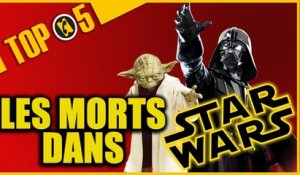 Les 5 morts les plus mémorables de STAR WARS !