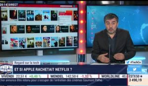 Regard sur la Tech: Un rachat de Netflix par Apple ? - 02/01