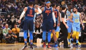 NBA : Le Thunder broie les Lakers