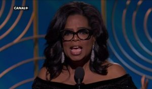 "Golden Globes 2018 - ""Time's up !"" Standing Ovation pour Oprah Winfrey"