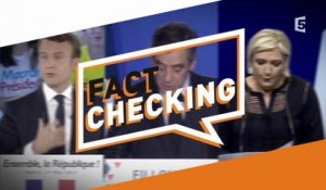 Le Fact Checking - C à Vous - 19/01/2018