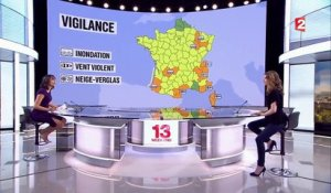 Météo France : 18 départements en alerte orange